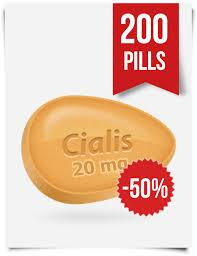 200 Cialis Pills Sold at Half the Price
