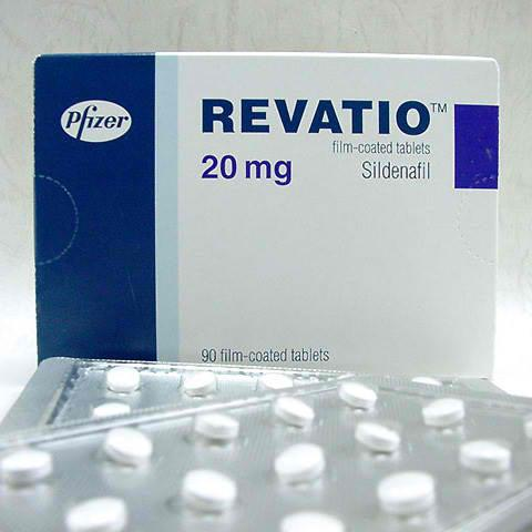 Revatio Sildenafil Citrate 20 mg