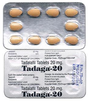 Tadaga – generic version of Cialis