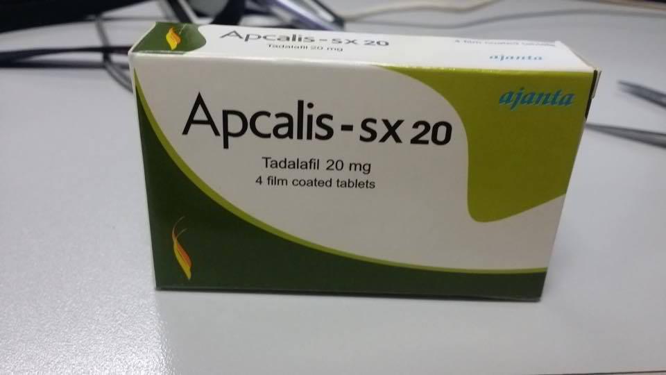 Apcalis-Sx 20mg, generic Cialis