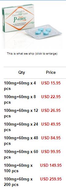 Super P-Force Price