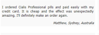 Review on Cialis Professional