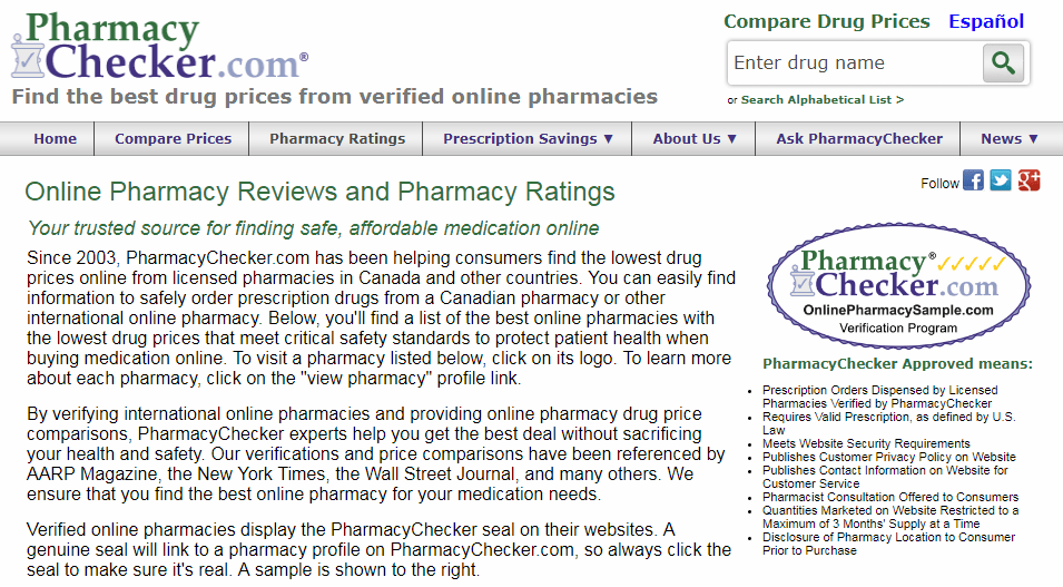 Some Sites Provide Useful Info about Pharmacies Online
