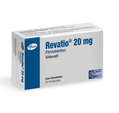 Revatio by Pfizer